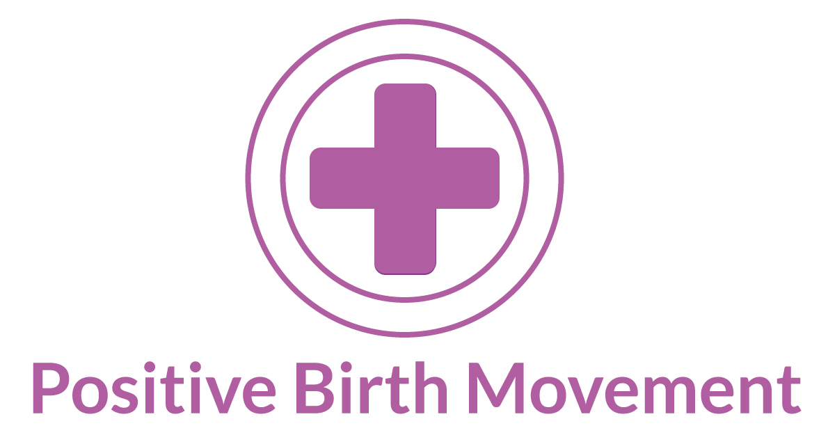 positive birth movement logo