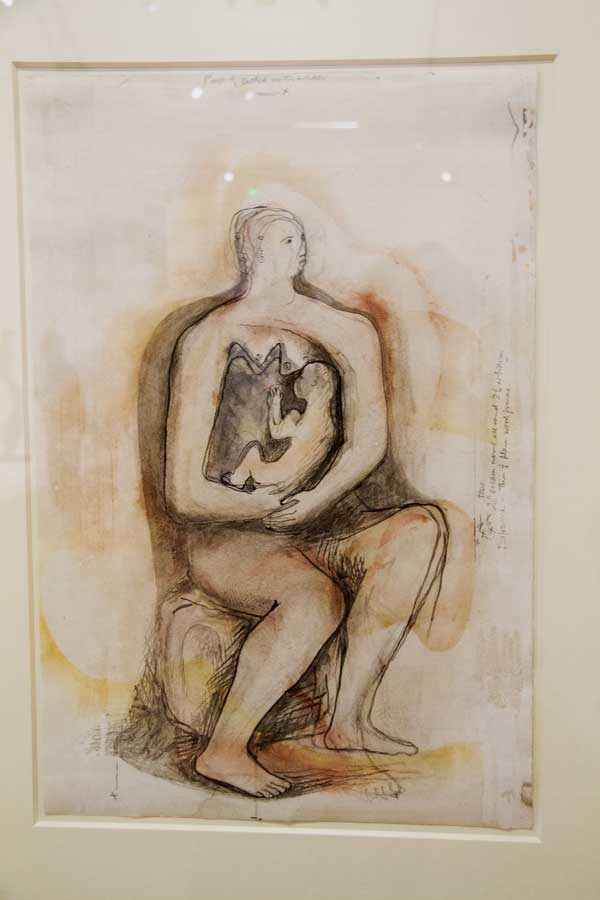 henry moore woman and baby sketch - image optimal birth